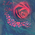 The Red Rose Of Love by Clive Littin