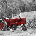 The Red Tractor by Aimelle