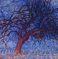The Red Tree by Piet Mondrian