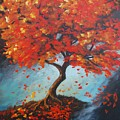 The Red Tree by Santo De Vita