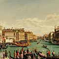 The Redentore Feast In Venice by Hubert Sattler