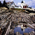 The Reflection At Pemaquid by Skip Willits