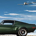 The Rendezvous - 1968 Mustang Fastback by Thomas Pollart
