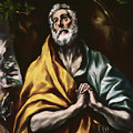 The Repentant Saint Peter by El Greco
