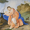 The Rest On The Flight Into Egypt by Peter Oliver