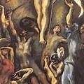 The Resurrection 1600 by El Greco