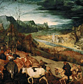 The Return Of The Herd by Pieter Bruegel the Elder