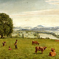 The Rhine Valley Near Sackingen by Hans Thoma
