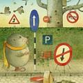 The Right-hand Hedgehog 02 by Kestutis Kasparavicius