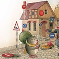 The Right-hand Hedgehog by Kestutis Kasparavicius