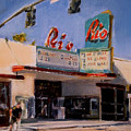 The Rio Theater by Merle Keller