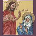 The Risen Christ Appears To His Mother 217 by William Hart McNichols