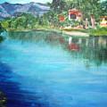the river Adda by Lia  Marsman