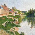 The River Bank by Paul Signac
