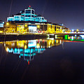 The River Liffey Night Romance 2 by Alex Art and Photo