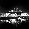 The River Liffey Reflections 2 Bw by Alex Art and Photo