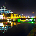 The River Liffey Reflections 3 by Alex Art and Photo