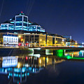The River Liffey Reflections 4 by Alex Art and Photo
