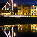The River Liffey Reflections by Alex Art and Photo