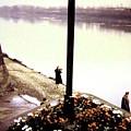 The River Seine 1955 by Will Borden