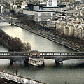 The River Seine - Paris by Daliana Pacuraru