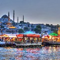 The Riverboats Of Istanbul by Michael Garyet