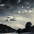 The Road And The Clouds by Silvia Ganora