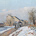 The Road From Gisors To Pontoise by Camille Pissarro