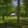 The Road Home Cades Cove Cabin  by Reid Callaway