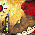 The Road To Life Original Madart Painting by Megan Duncanson