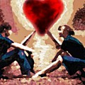 The Road To Love #0007 by Urszula Zogman