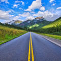 The Road To Maroon Lake by Photography By Sai