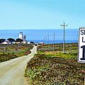 The Road To Piedras Blancas Lighthouse by Glenn McCarthy Art and Photography