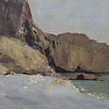 The Rocks At Vallieres by Odilon Redon