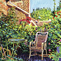 The Roof Garden by David Lloyd Glover