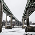 The Roosevelt Expressway Bridges by Bill Cannon