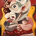 The Rose Madonna by John Keaton