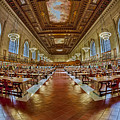 The Rose Main Reading Room Nypl by Susan Candelario