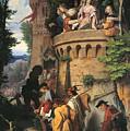 The Rose Or The Artist's Journey by Moritz von Schwind