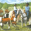 The Roundup by Henry Frison
