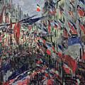 The Rue Saint Denis by Claude Monet