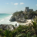 The Ruins Of Tulum by Dennis Boyd