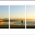 The Runner Triptych by Lynn Andrews