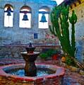 The Sacred Garden Of Mission San Juan Capistrano California by Karon Melillo DeVega