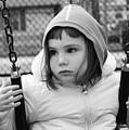 The Sad Girl On A Swing by Alex Galkin