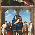 The Saint Anne Altarpiece From San Frediano Lucca by PixBreak Art