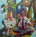 The Salesman by Paul Hilario