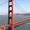 The San Francisco Golden Gate Bridge 7d14507 Panoramic by Wingsdomain Art and Photography