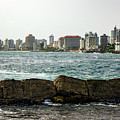 The San Juan Puerto Rico Cityscape by Kenneth Lempert