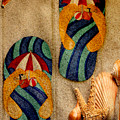 The Sands Of Summer - Flip Flops by Marie Jamieson